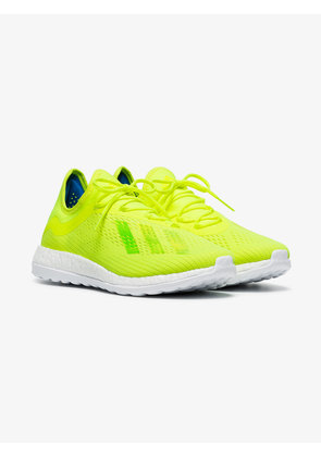 Adidas neon yellow X18+TR sneakers