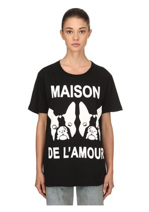 MAISON DE L'AMOUR COTTON JERSEY T-SHIRT