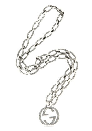 INTERLOCKING G CHAIN NECKLACE
