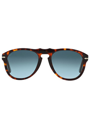 Persol Icons PO0649 24/86 Havana with Grey-Green Lenses Sunglasses