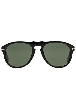 Persol Icons PO0649 95/31 Black with Grey Lenses Sunglasses