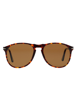 Persol Icons PO9649S 24/57 Polarized Havana with Brown Lenses Sunglasses