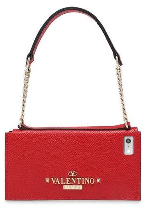 Valentino Woman Leather Iphone 5/5s/se Case Red Size -