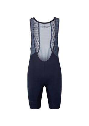 Cafe du Cycliste - Marinette Mesh-panelled Cycling Bib Shorts - Navy