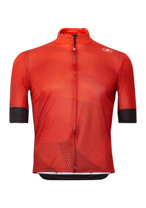 Castelli - Flusso Fz Prosecco Gt Cycling Jersey - Red