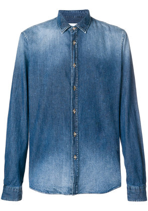 Dondup stonewashed denim shirt - Blue