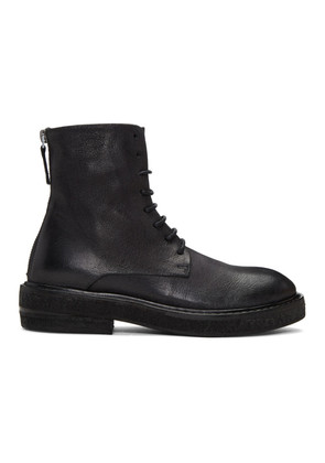 Marsèll Black Parrucca Lace-Up Boots