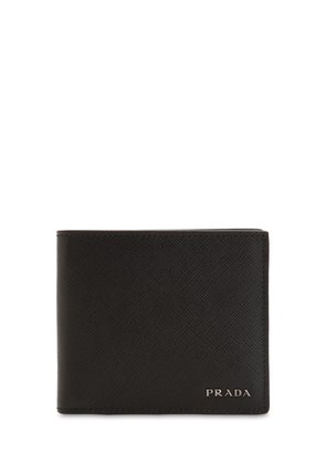 TWO TONE SAFFIANO LEATHER CLASSIC WALLET