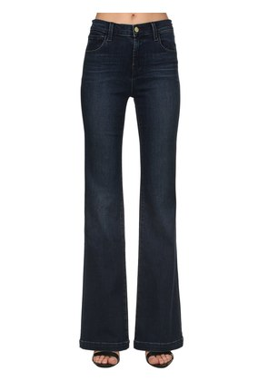 HIGH WAIST MARIA FLARED DENIM JEANS