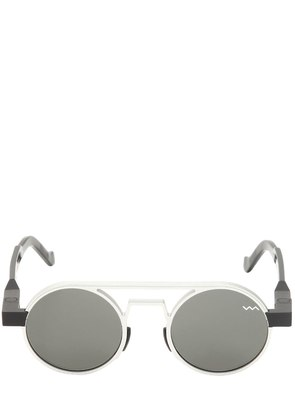 TWO TONE DOUBLE BRIDGE SUNGLASSES