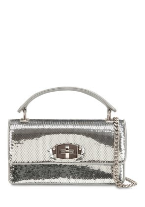SMALL CLEO SEQUINED SHOULDER BAG