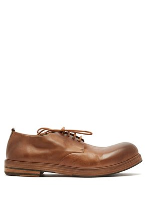 Zucca Zeppa leather derby shoes
