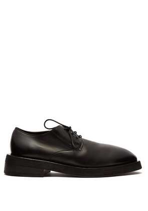 Mentone leather derby shoes
