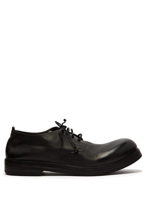 Zucca leather derby shoes