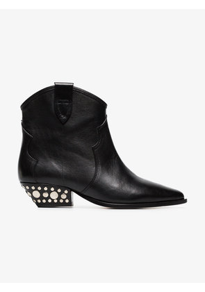 Isabel Marant black Dawyna 40 leather ankle boots