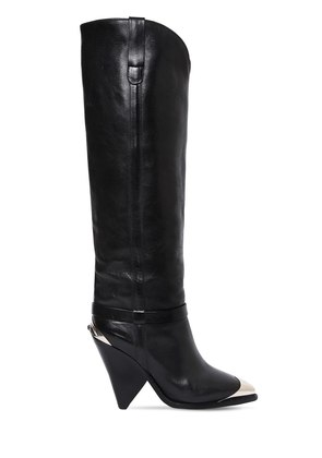 90MM LENSKEE LEATHER TALL BOOTS