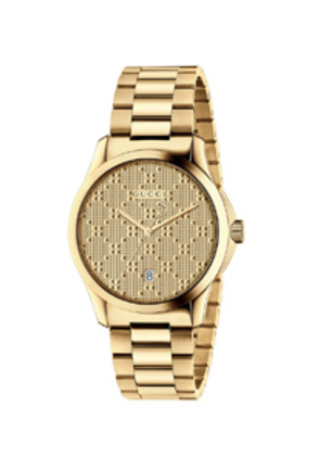 Gucci 38MM G-Timeless Bracelet Watch in Metallics