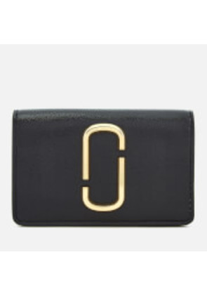 Marc Jacobs Women's Snapshot Business Card Case - Black/Baby Pink