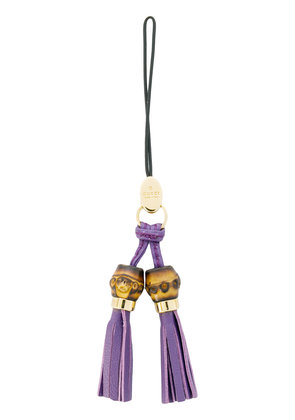 Gucci tassel keyring - Purple