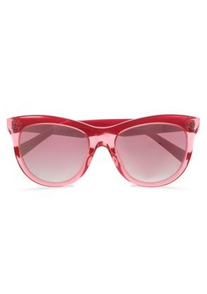 Marc Jacobs Woman D-frame Acrylic Sunglasses Pink Size -