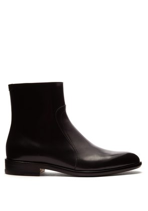 Icons leather chelsea boots