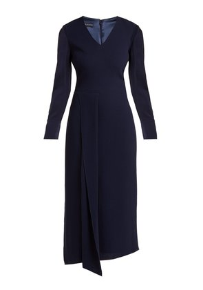 Shrimpton wool-crepe dress