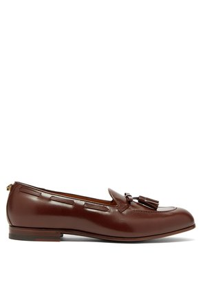 Loomis leather tassel loafers