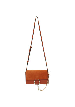 Chloé Red Small Faye Bag