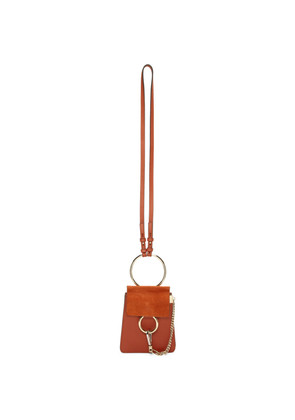 Chloé Red Mini Faye Bracelet Bag