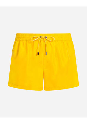 Dolce & Gabbana Beachwear - SHORT SWIMMING TRUNKS YELLOW