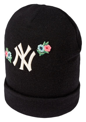 Gucci Wool hat with NY Yankees™ patch - Black