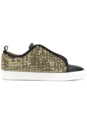 Black Dioniso SWR crystal coated sneakers