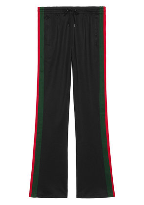 Gucci Technical jersey flare pants - Black