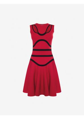 ALEXANDER MCQUEEN Mini Dresses - Item 34854995
