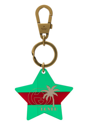 Gucci Loved keyring - Green