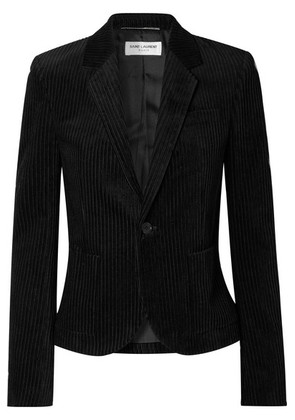 Saint Laurent - Cotton-corduroy Blazer - Black