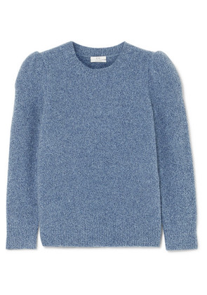 Co - Cashmere-blend Bouclé Sweater - Blue