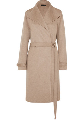 Joseph - Lima Belted Wool And Cashmere-blend Coat - Beige