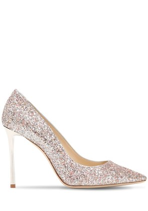 100MM ROMY GLITTERED PUMPS