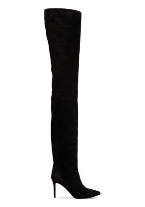 90MM ALEX SUEDE THIGH HIGH BOOTS