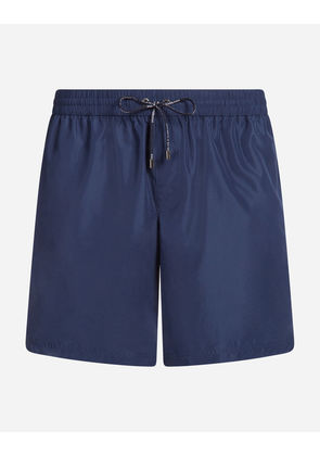 Dolce & Gabbana Beachwear - LONG SWIMMING TRUNKS BLUE