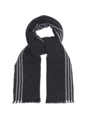 Beaufort Washed wool and cashmere-blend scarf