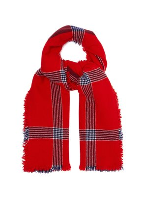 Beaufort Ladakh lambswool and cashmere-blend scarf