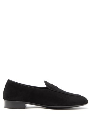 G-Flash suede loafers