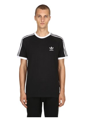 3-STRIPES COTTON JERSEY T-SHIRT