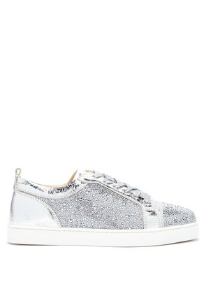 Louis Junior Strass crystal-embellished trainers