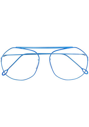 Delirious thin frame spectacles - Blue