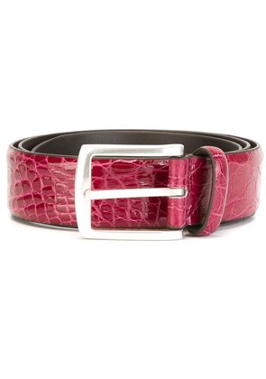 Andrea D'amico buckle belt - Pink