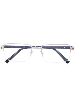 Gold And Wood wooden arm glasses - Brown