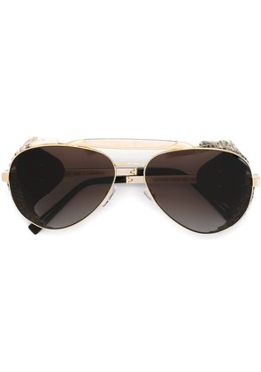 Gold And Wood 'Cape Horn Extreme' sunglasses - Neutrals